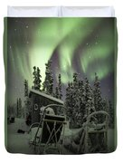Take A Seat For The Aurora Duvet Cover