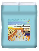 Take It With You Duvet Cover