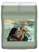 Take Me Into Your Loving Arms Duvet Cover