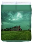 Take Shelter Again Duvet Cover
