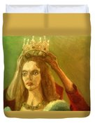 Taking Off The Crown Duvet Cover