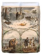 Tale Of The Marche Rich And Basil Homeless 1 Duvet Cover