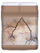 Tales From The Riverbank  Iv Duvet Cover