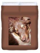 Talking Dog Duvet Cover