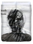 Talking Heads Fear Of Music  Duvet Cover