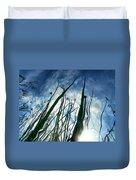 Talking Reeds Duvet Cover