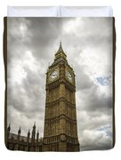 Tall Big Ben Duvet Cover