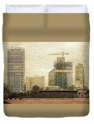 Tall Buildings Duvet Cover