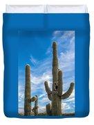 Tall Cacti Duvet Cover