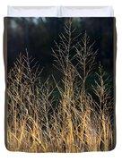 Tall Fall Grasses Duvet Cover