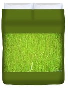 Tall Grassy Meadow Duvet Cover