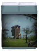 Tall Little Stilt House, Duvet Cover