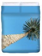Tall Palm Duvet Cover