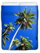 Tall Palms Duvet Cover