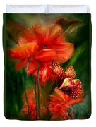 Tall Poppies Duvet Cover