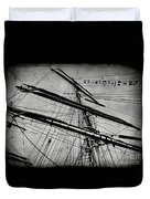 Tall Ship Mast V3 Duvet Cover