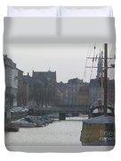 Tall Ship Of Copenhagen Duvet Cover