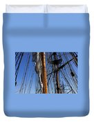 Tall Ship Rigging Lady Washington Duvet Cover