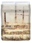 Tall Ship Duvet Cover