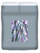 Tall Wet Grass Duvet Cover