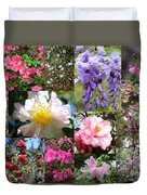 Tallahassee Springtime Collage Duvet Cover