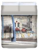 Tallin Graffiti Station Duvet Cover