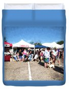 Tamales For Sale Duvet Cover