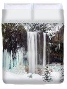 Tamanawas Falls 2 Duvet Cover
