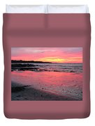 Tamarindo Sunset Duvet Cover