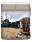 Tamaroa Zuni Berthed Duvet Cover