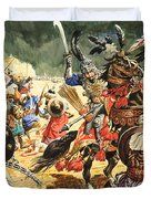 Tamerlane The Terrible Duvet Cover by CL Doughty