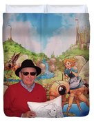 Tammy And Reynold Jay Duvet Cover