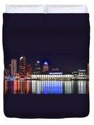Tampa Bay Panorama Duvet Cover