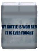 Tampa Bay Rays Battle Duvet Cover