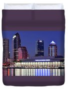 Tampa Convention Center Duvet Cover