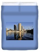 Tampa Florida 2010 Duvet Cover