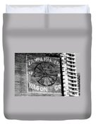 Tampa Harness Wagon N Company Duvet Cover