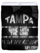 Tampa Theatre 1939 Duvet Cover
