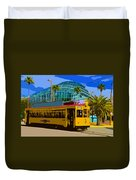 Tampa Trolley Duvet Cover