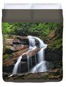 Upper Dill Falls Duvet Cover