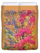 Tangerine Tree Duvet Cover