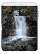 Tangle Creek Falls, Alberta, Canada Duvet Cover