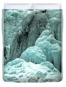 Tangle Falls Frozen Blue Cascades Duvet Cover