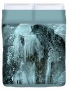 Tangle Falls Frozen Cascade Duvet Cover