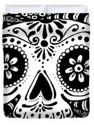 Tangled Skull Duvet Cover