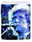 Tangled Up In Blue, Bob Dylan Duvet Cover