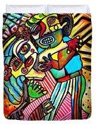 Tango Dance Of Love Duvet Cover