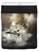 Tank Busters Duvet Cover