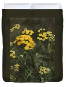 Tansy Blossoms Duvet Cover
