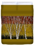 Tante Betulle Duvet Cover by Guido Borelli